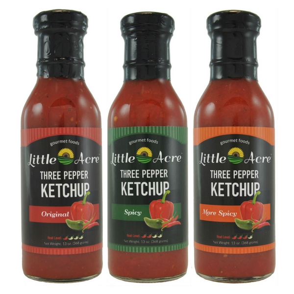 3 new ketchups